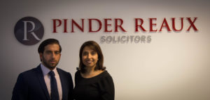 Rupinder Bains And John Spyrou Of Pinder Reaux Solicitors